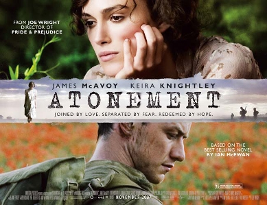 Atonement is a very romantic movie set in England