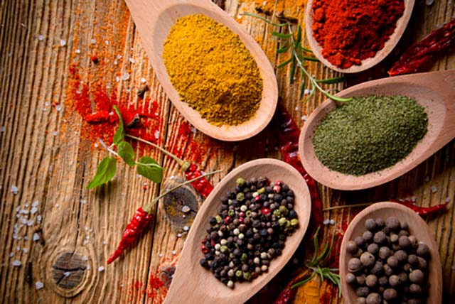 Spices for curry recipes