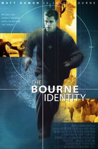 The Bourne Identity is among the movies set in Paris