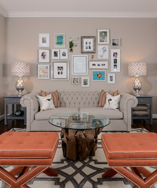 Gallery wall design by Kerrie Kelly Design Lab