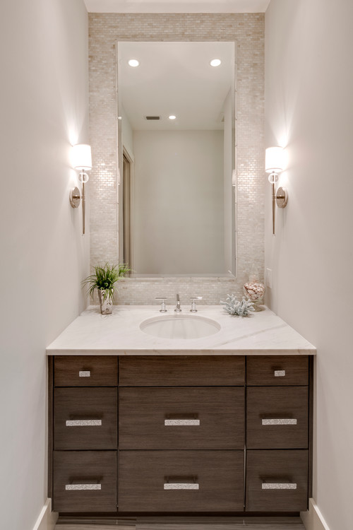 small bathroom decorating idea by Design by 41 West
