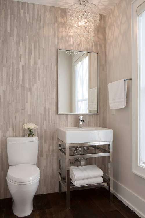 small bathroom decorated by Melissa Lenox Design