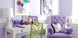 Happy paint colors include purple!