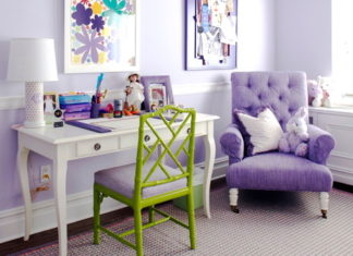 Happy paint colors include purple!