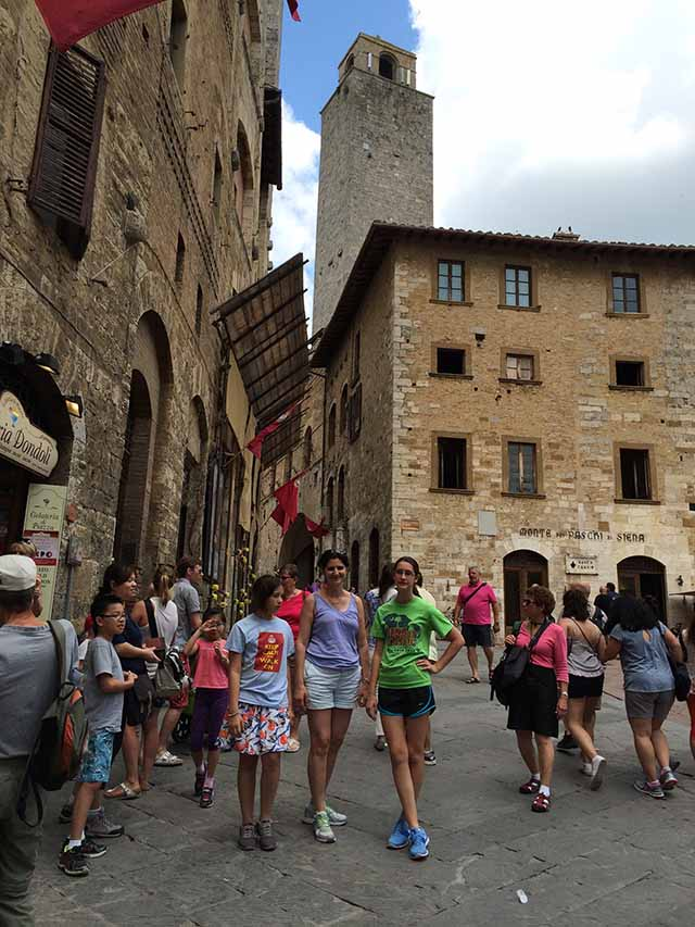 Florence to Chianti includes San Gimignano
