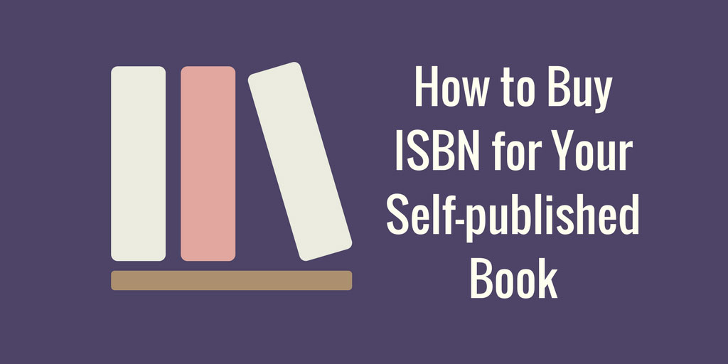 How to buy ISBN for your self-published book