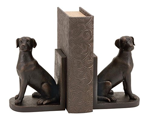 Deco 79 dog bookends