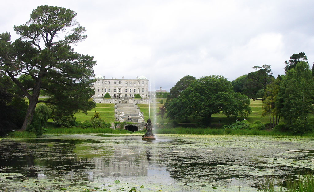 Enniskerry, one of the prettiest towns in Ireland, includes Powerscourt.