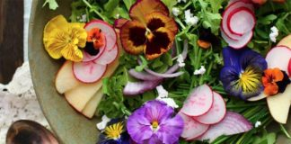 Edible flower recipes from HarvestandHoney