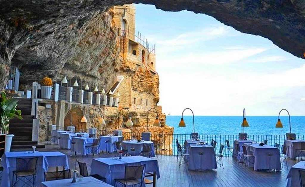 Grotta Palazzese The Restaurant In Italy 1