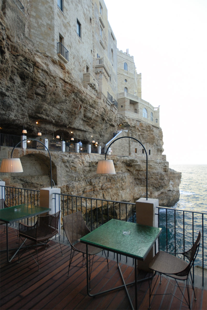 Grotta Palazzese restaurant in Italy -3