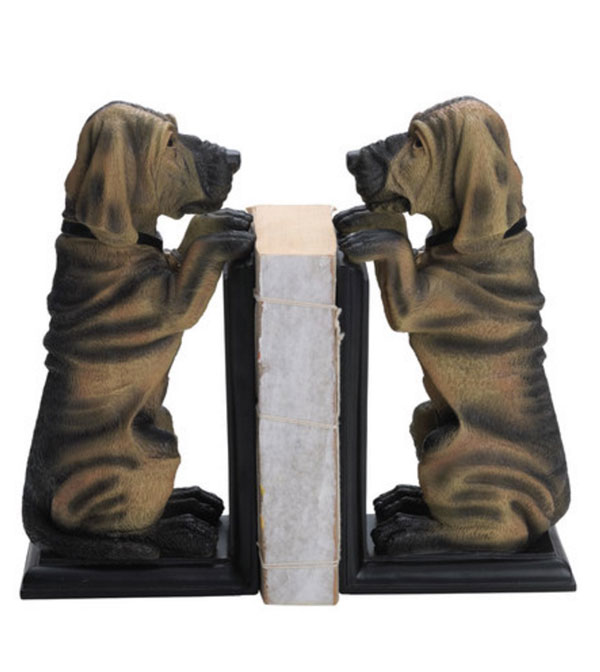 Dog bookends by Hawthorne