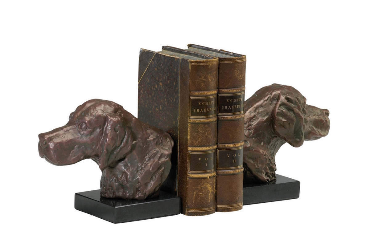 Dog bookends on Houzz