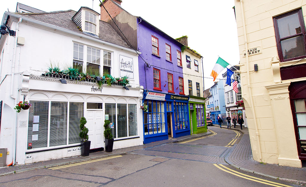Kinsale, one of the prettiest towns and villages in Ireland