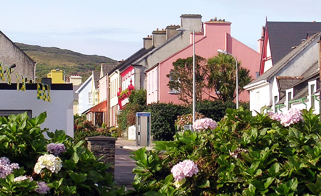 Knightstown on Valentia Island is one of the prettiest Ireland towns