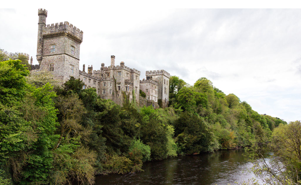 Lismore Castle is in one of the most beautiful Ireland towns and villages
