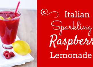 Raspberry lemonade featured photo