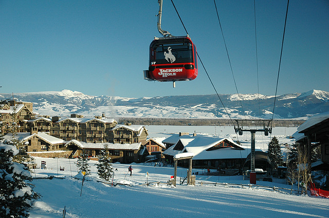 Best ski resorts in the western US include Jackson Hole Mountain Resort