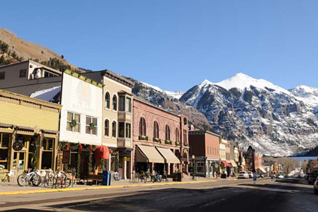 Best ski resorts in the western US include Telluride