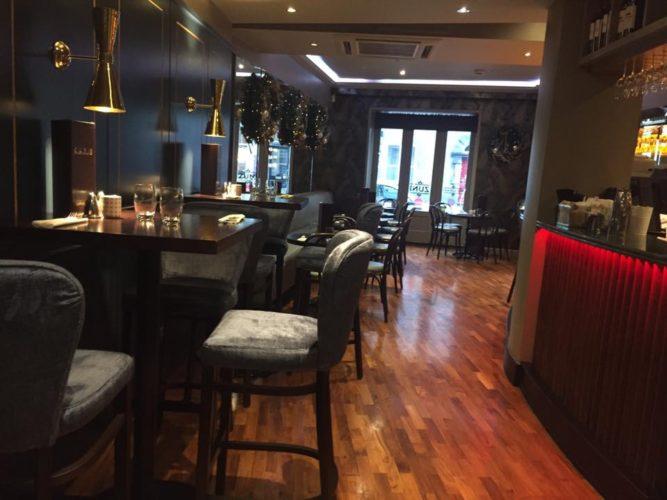 Zuni Hotel restaurant in Kilkenny