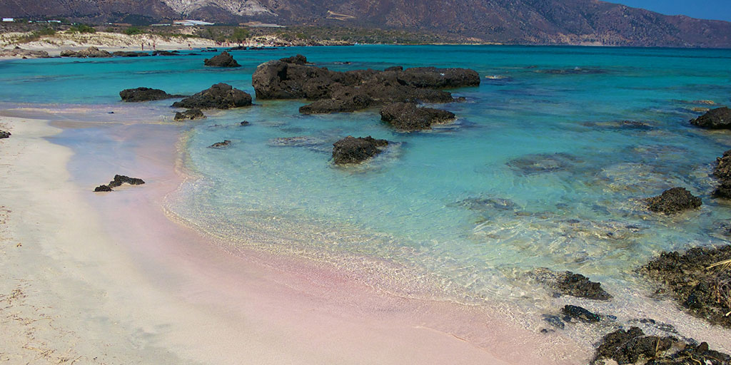 Best beaches include Elafonisi, Greece.