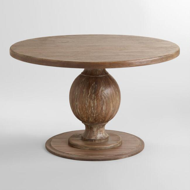Blanca round dining table 47.6 in. Approx $500