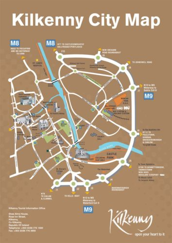 Kilkenny City Map