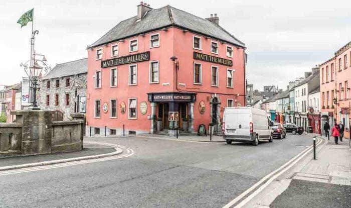 Street in Kilkenny Ireland