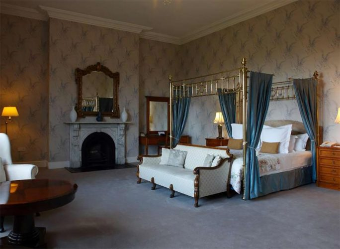 Manor house room at Lyrath Estate in Kilkenny, Ireland