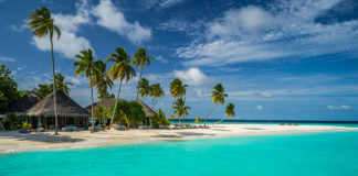 Best beaches include Constance Halaveli Resort in the Maldives