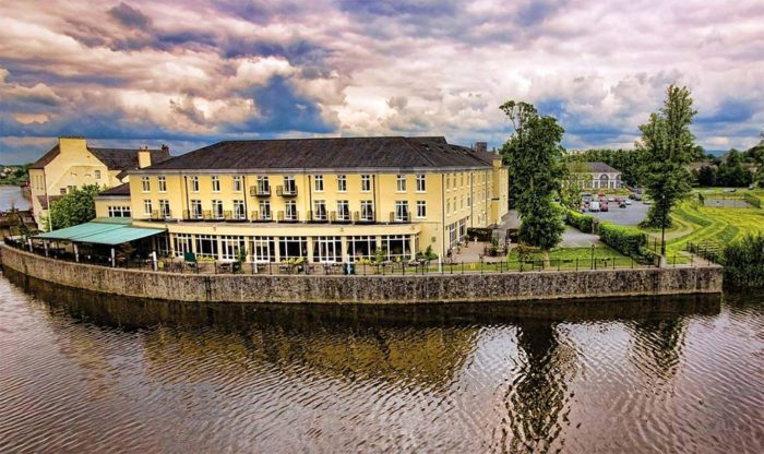 Exterior of the River Court Hotel in Kilkenny