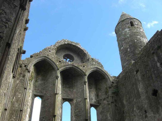 Rock of Cashel tower