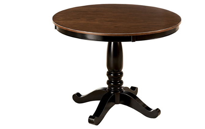 Round kitchen table 42 in., approx. $250