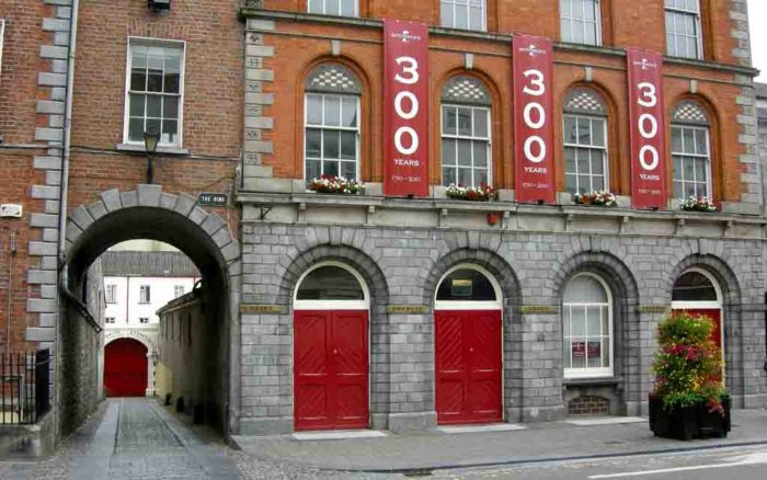Smithwick's Brewery in Kilkenny