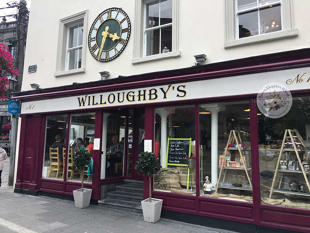 Willoughbys Cafe in Kilkenny