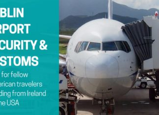 Dublin airport security and customs opener