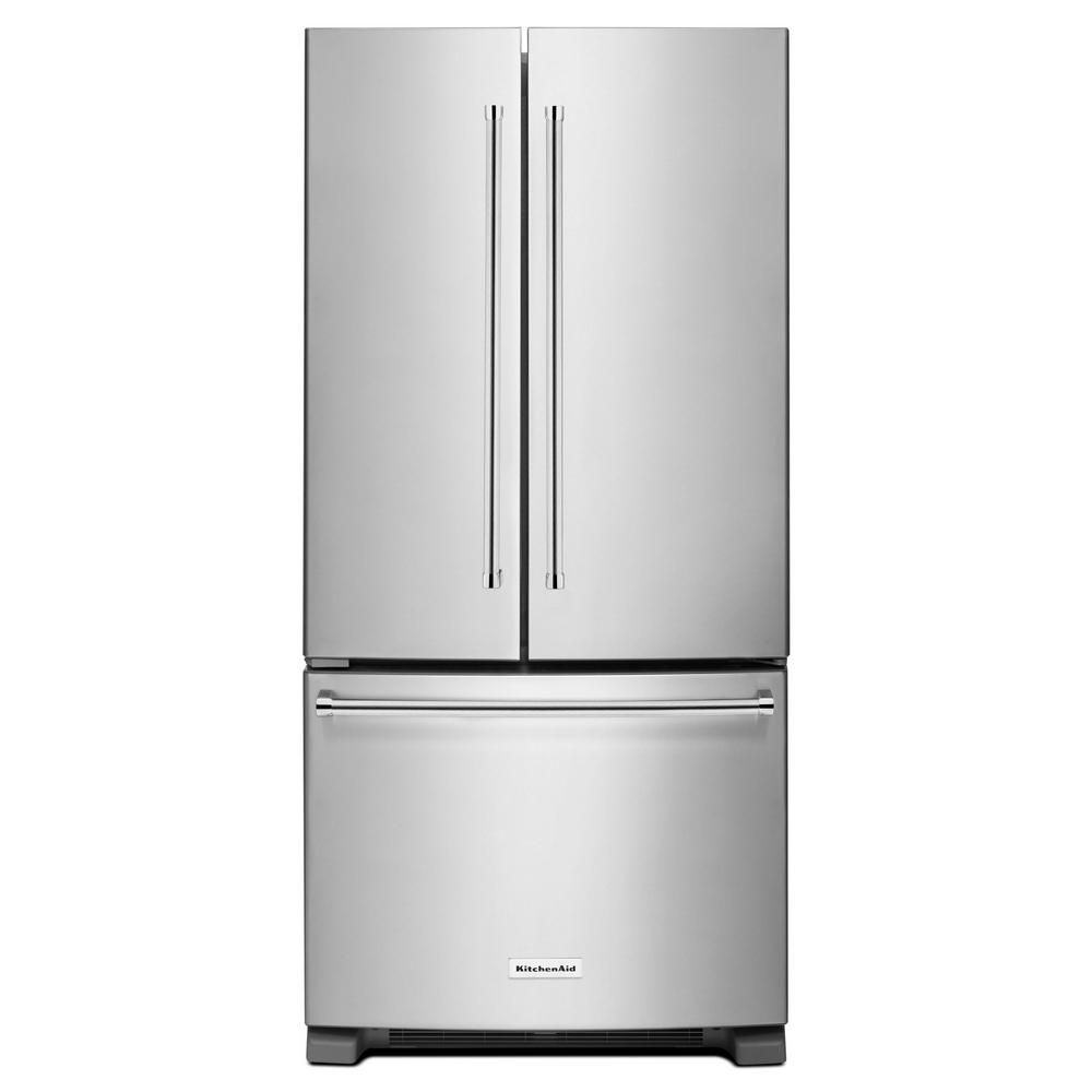 KitchenAid KRFF302ESS French door fridge