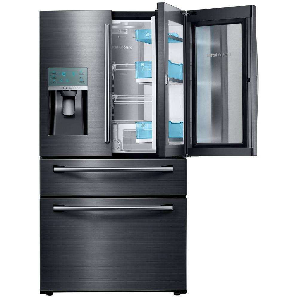 The Best French Door Refrigerator Includes The Samsung RF28JBEDBSG