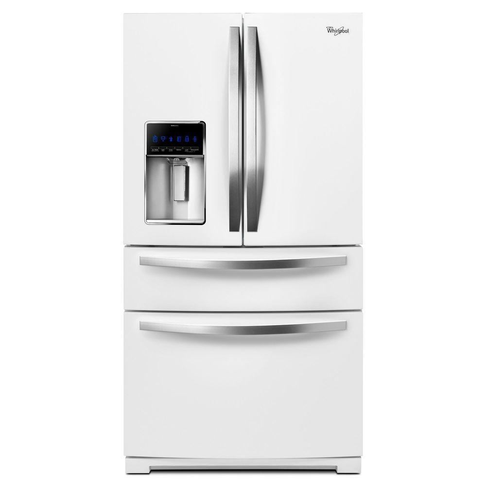 37 best french door refrigerators reviews travis neighbor ward the 39 best french door refrigerators include this whirlpool wrx735sdbh in white ice rubansaba