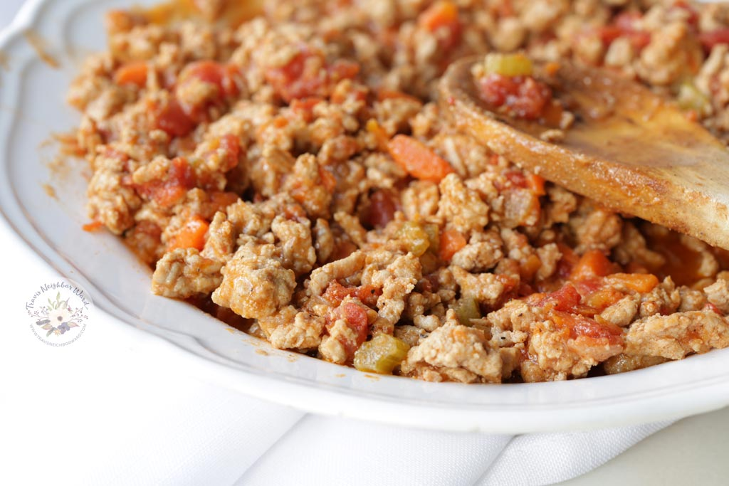Ragu sauce recipe with ground turkey meat