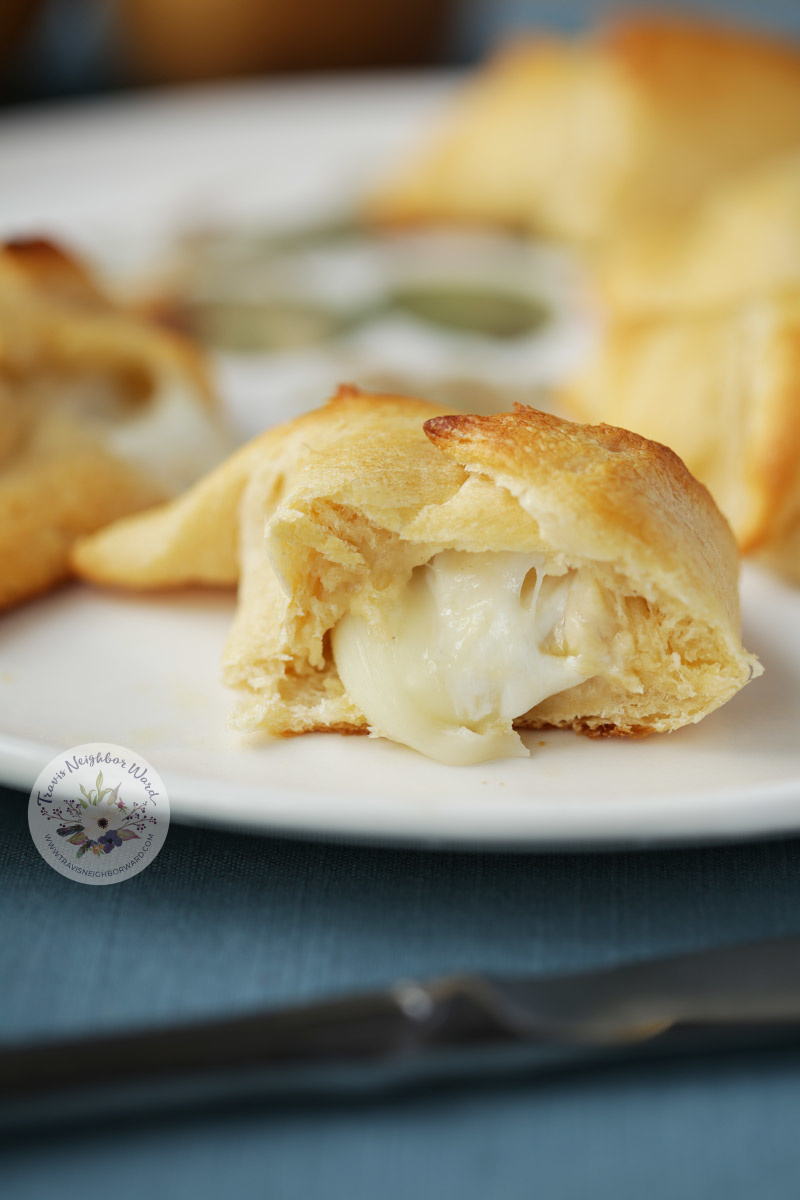 These easy crescent roll appetizers are delicious