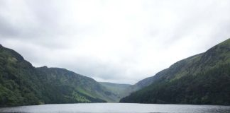 Glendalough, Ireland, lake.