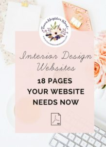 18 Pages your interior design website needs now