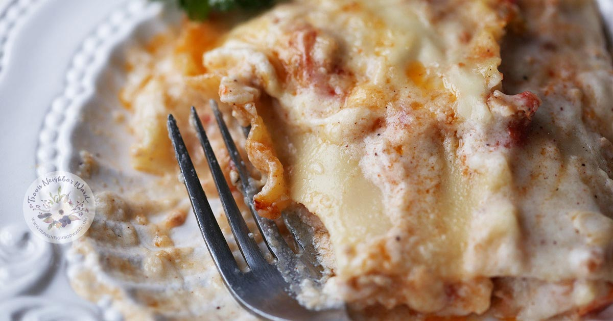 This traditional lasagna recipe is great for leftovers, too!